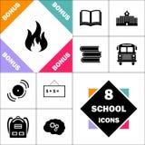 Symbole d'ordinateur du feu Image libre de droits
