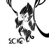 Symbole de 2016 ans Image stock