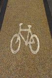 Symbole de bicyclette Images libres de droits