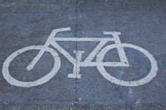 Symbole de bicyclette Photo stock
