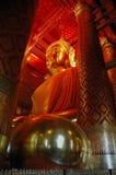 Symbole de Bouddha dans Watphananchoeng, Thaïlande photographie stock libre de droits