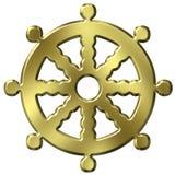 Symbole de bouddhisme Images libres de droits