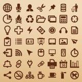 Symbole de bureau Images libres de droits