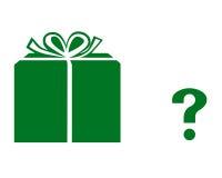Symbole de cadeau Photos stock