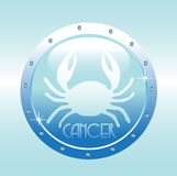 symbole de cancer Photo stock