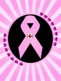 Symbole de cancer du sein Photographie stock libre de droits