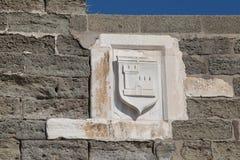 Symbole de chevalier Images libres de droits