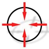 Symbole de cible Photographie stock libre de droits
