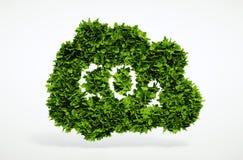 Symbole de CO2 d'Eco illustration de vecteur
