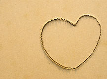 Symbole de coeur Photos stock