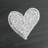 Symbole de coeur d'amour Photographie stock libre de droits