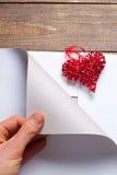 Symbole de coeur de l'amour Photos libres de droits