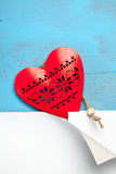 Symbole de coeur de l'amour Photo stock