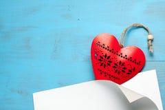 Symbole de coeur de l'amour Photographie stock