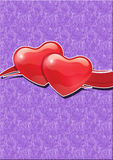 Symbole de coeur et d'amour Images libres de droits