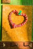 Symbole de coeur sur le bois Images stock