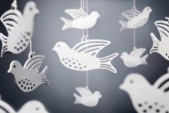 Symbole de colombe de blanc de paix images stock
