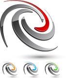 Symbole de compagnie. illustration de vecteur