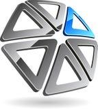 Symbole de compagnie. illustration stock
