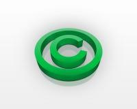 Symbole de copyright Photos libres de droits