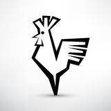 Symbole de coq, Photo stock