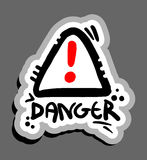 Symbole de danger illustration libre de droits