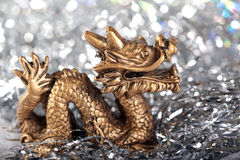 Symbole de dragon de l'an 2012 Photographie stock libre de droits