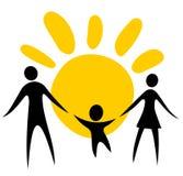 Symbole de famille Photo libre de droits
