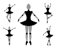 Symbole de fille de danseur Photo libre de droits