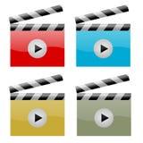 Symbole de film Photo stock