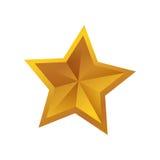 Symbole de forme d'étoile photographie stock