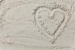 Symbole de forme de coeur Images libres de droits