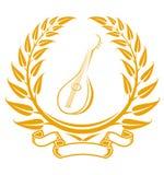 Symbole de guitare Images libres de droits