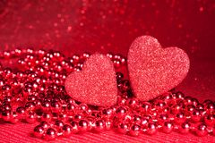 Symbole de jour de Valentine Images libres de droits