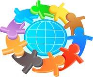 Symbole de l'amitié et de la solidarité Image libre de droits