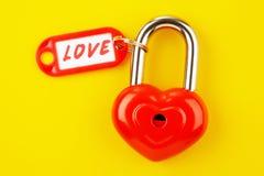 Symbole de l'amour Photos stock