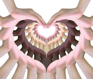 Symbole de l'amour Image stock