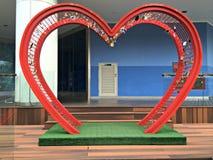 Symbole de l'amour Images libres de droits