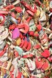 Symbole de l'amour fort Images libres de droits