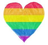 Symbole de l'amour gai et lesbien illustration libre de droits