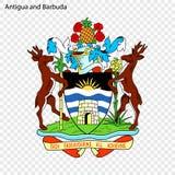 Symbole de l'Antigua-et-Barbuda illustration libre de droits