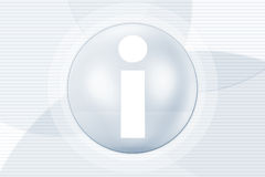 symbole de l'information Image stock
