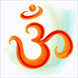 Symbole de l'OM Image libre de droits