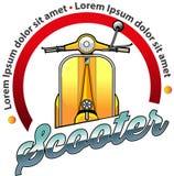 Symbole de la communauté de scooter Images libres de droits