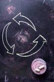 Symbole de la réutilisation Images stock