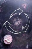 Symbole de la réutilisation Photographie stock