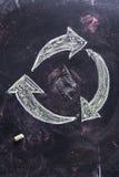 Symbole de la réutilisation Images libres de droits