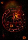Symbole de Lilith illustration de vecteur