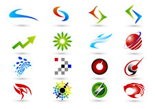 Symbole de logo Photos libres de droits