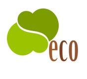 Symbole de logo d'Eco illustration libre de droits
